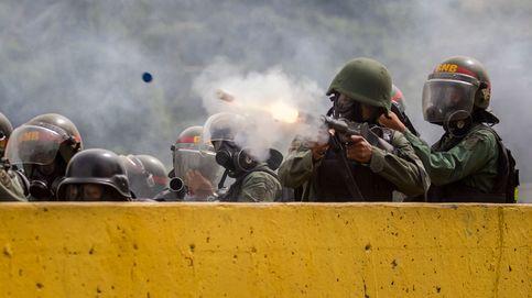 Los sanitarios protestan en Caracas