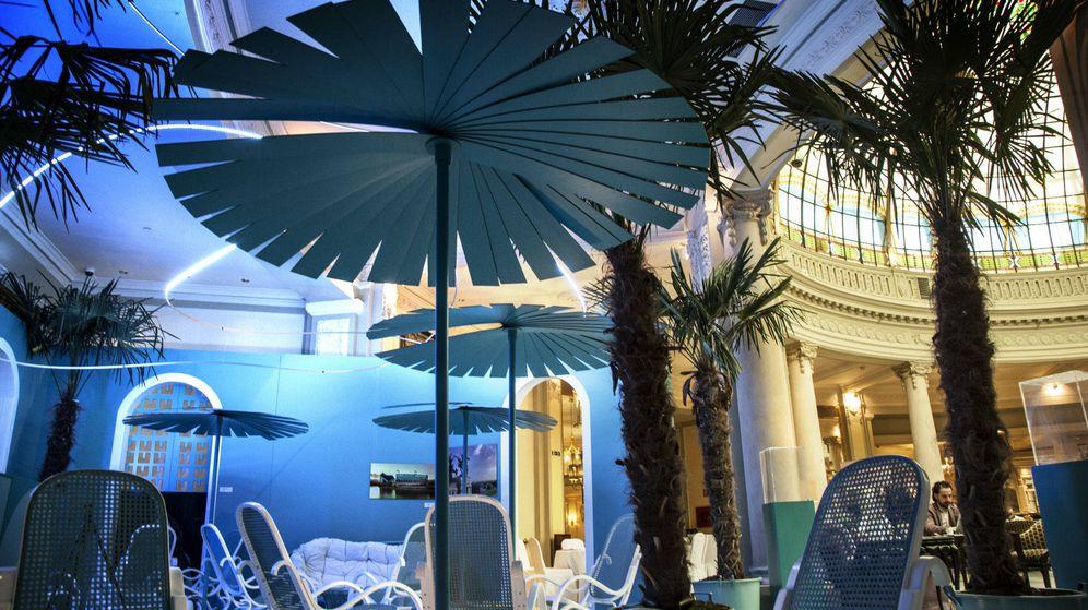 Foto: El Blue Bar en el hotel Palace.