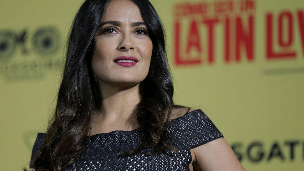 Foto:  La actriz mexicana Salma Hayek. (EFE)