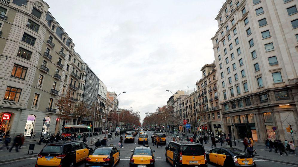 Foto: Los taxistas vuelven a bloquear Barcelona. (Reuters)