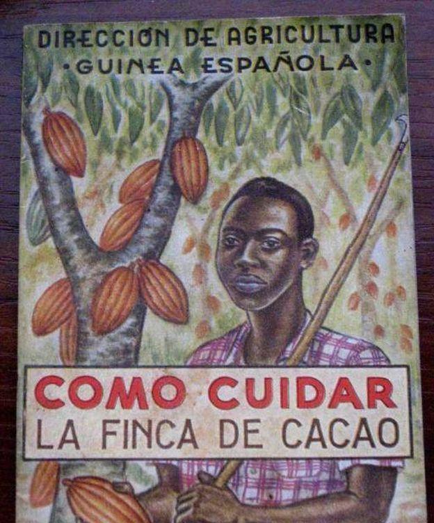 Foto: Un cartel de la época colonial.