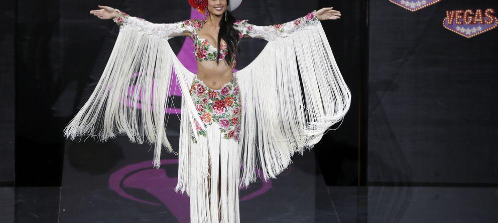 Foto: Patricia Yurena durante el certamen Miss Universo en noviembre de 2013 (Gtres)