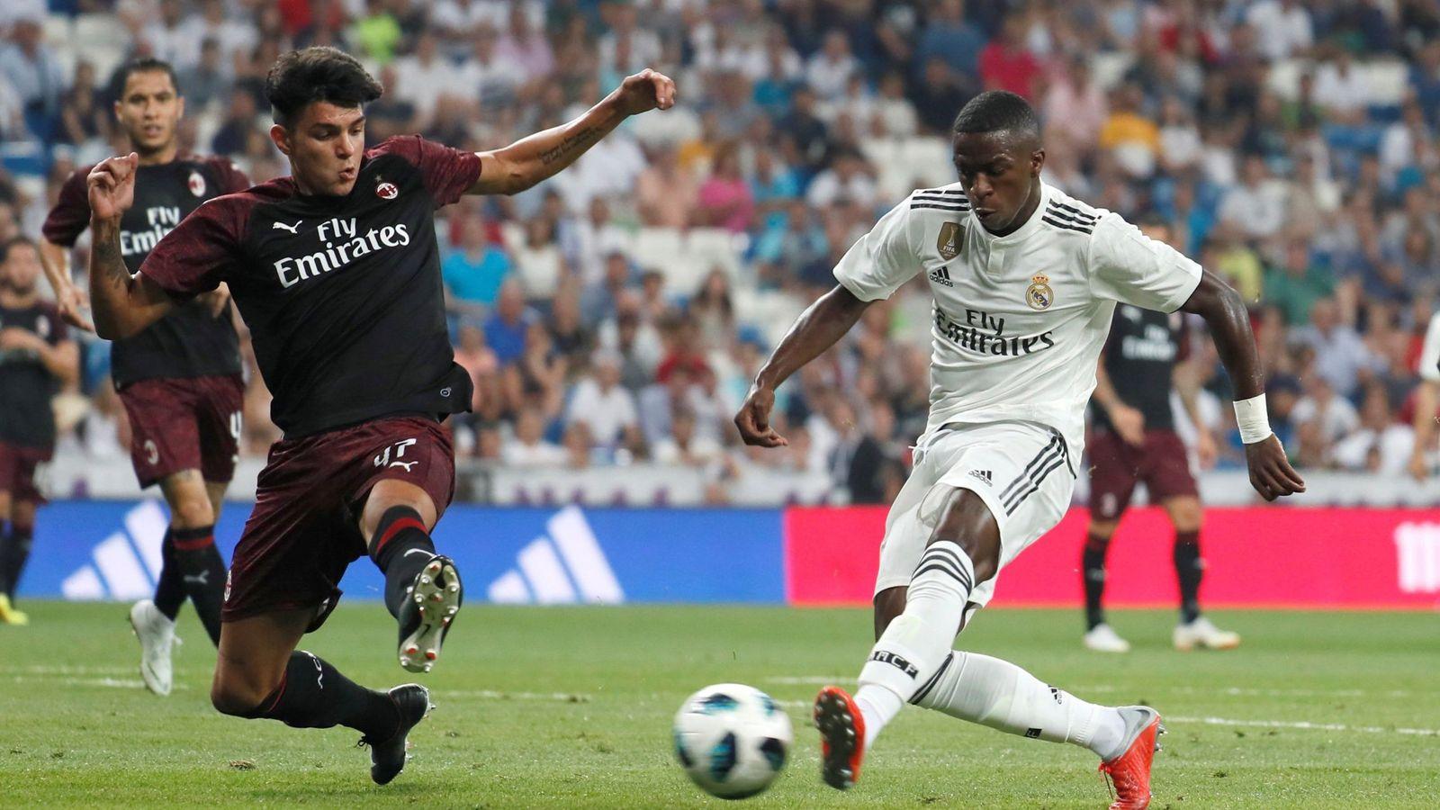 Foto: Vinicius preocupa más en el Real Madrid que la búsqueda del 9 que demanda Lopetegui. (EFE)