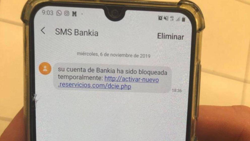 Ojo si recibes este SMS en tu 'smartphone': un mensaje falso intenta suplantarte