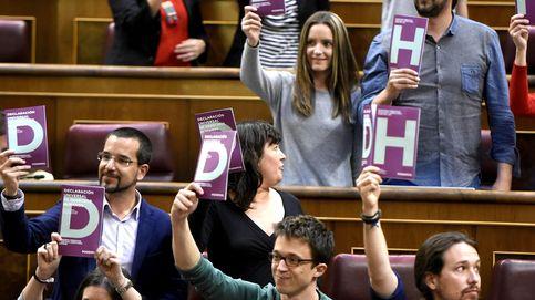 El PSOE apoya la ley 25 de Podemos pero le fustiga por bloquear el Gobierno