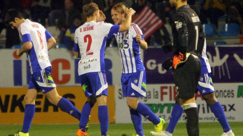El Eibar queda al borde de la eliminación; al Villarreal y al Málaga les sacan los colores