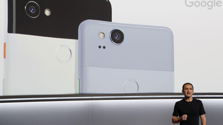 Foto: Presentación de los nuevos Pixel 2 de Google. (Reuters)
