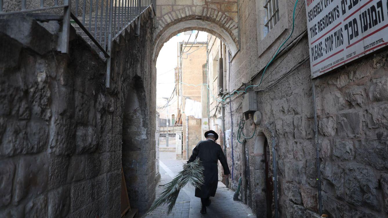 Foto: Una calle de Jerusalen. Foto: EFE EPA ABIR SULTAN