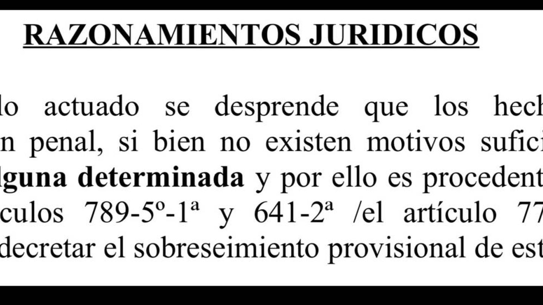 El juez archivó la causa al no encontrar vinculación necesaria entre Julio y el delito.