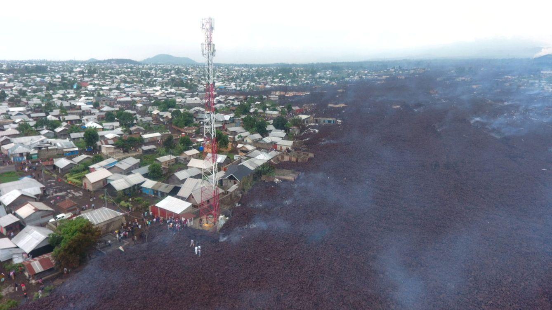 La erupción del volcán Nyiragongo deja 15 muertos en República Democrática del Congo