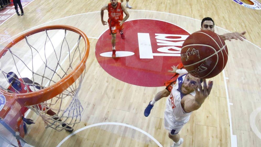 Foto: Rudy Fernández anotó 19 puntos contra el Valencia Basket en el primer partido de la final, su máxima anotación de la temporada. (ACB Photo)