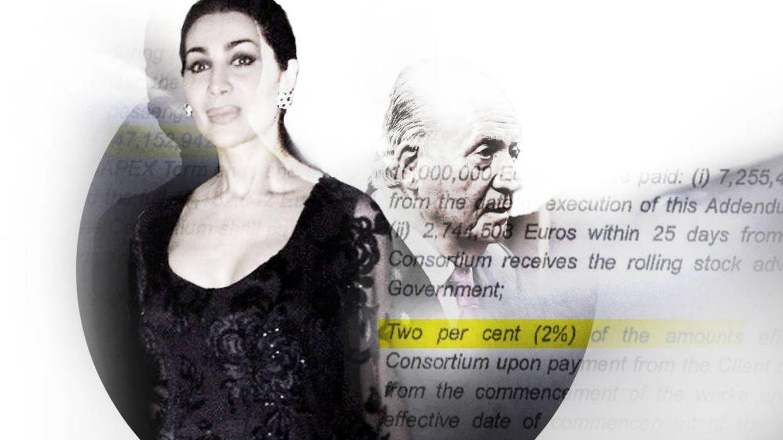 La lobista de confianza del rey Juan Carlos se aseguró un fijo del 2% en el AVE a La Meca