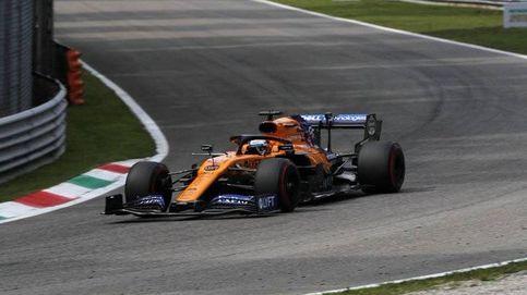 Fórmula 1 en directo: Carlos Sainz, al ataque en el Gran Premio de Italia