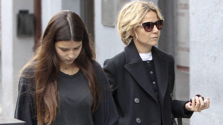 Eugenia y su hija.