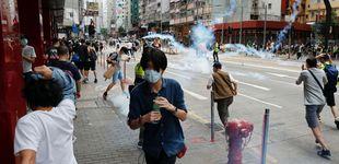 Post de La policía china lanza gases lacrimógenos contra los manifestantes de Hong Kong