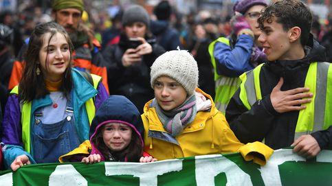 Greta Thunberg colapsa Bristol con su protesta: ¡No nos rendiremos!