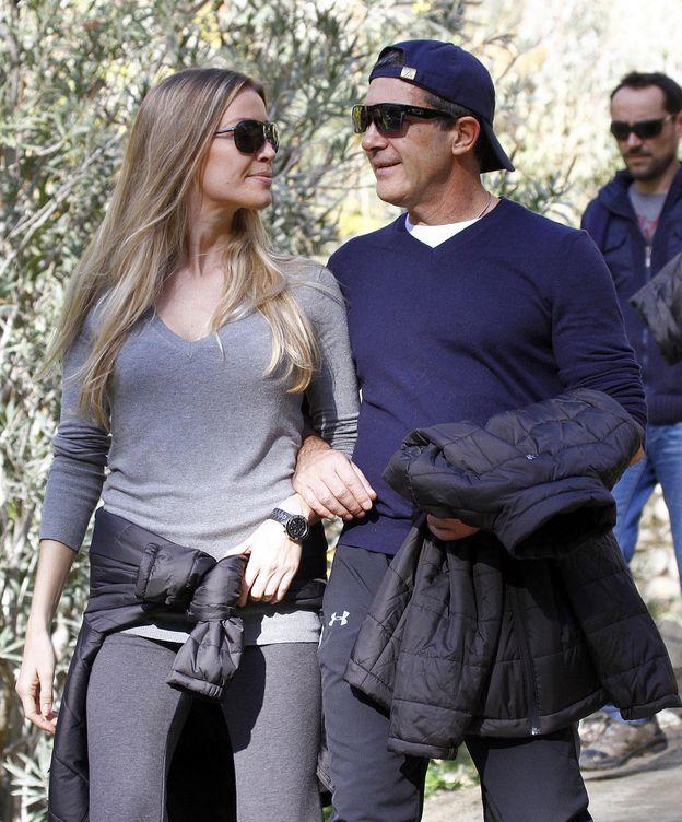 Foto: Antonio Banderas y Nicole Kimpel en una imagen de archivo (Gtres)