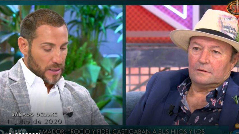 Antonio David y Amador Mohedano. (Mediaset)
