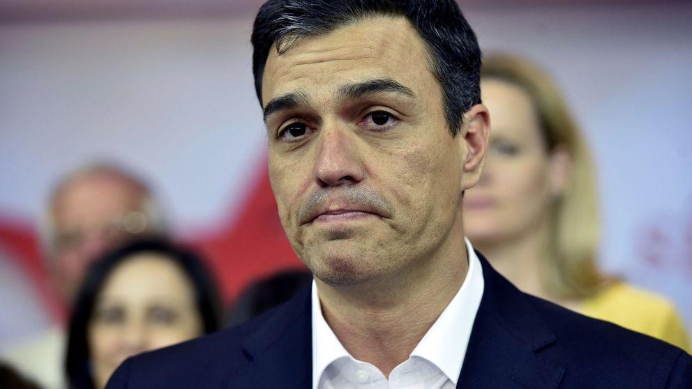 Las diez frases del discurso de Pedro Sánchez tras conocerse los resultados