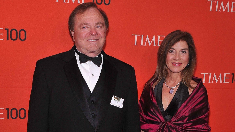 Harold Hamm y Sue Ann Arnall, en 2012. (Getty)
