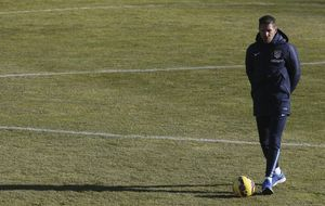 El Cholo apuesta por el 'doble 9' para hacer frente al Granada
