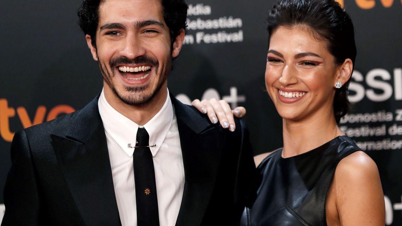 Úrsula Corberó y Chino Darín, en el Festival Internacional de Cine de San Sebastián. (EFE)