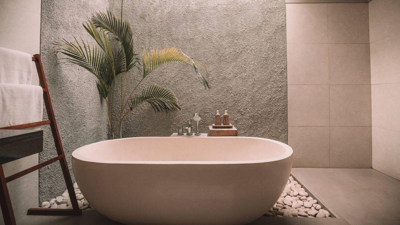 Alternativas al azulejo tradicional en el baño. (Jared Rice para Unsplash)