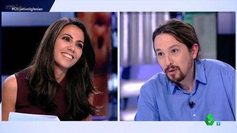 Ana Pastor ('El objetivo') frena a Pablo Iglesias : No me lea el pensamiento