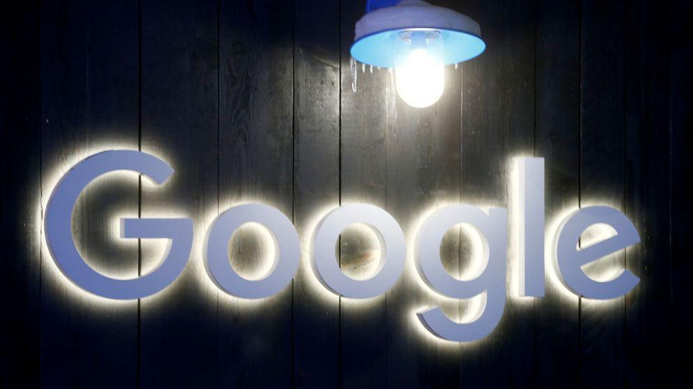 Foto: Vista del logo de Google. (Reuters)