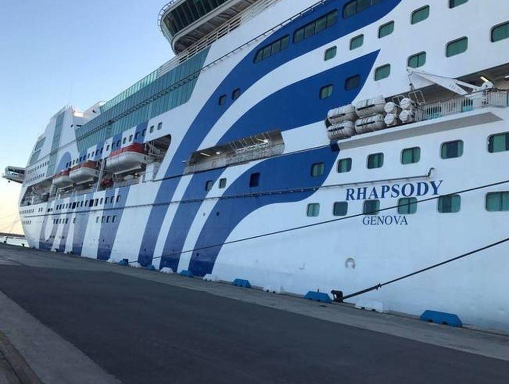 Foto: Crucero 'Rhapsody'.