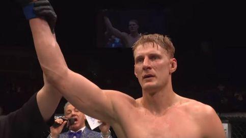 El KO de Volkov que borra la sonrisa al bromista Werdum en la UFC London