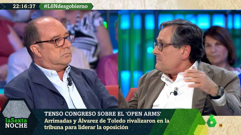 Jesús Maraña y Marhuenda, en 'La Sexta noche'. (Atresmedia).