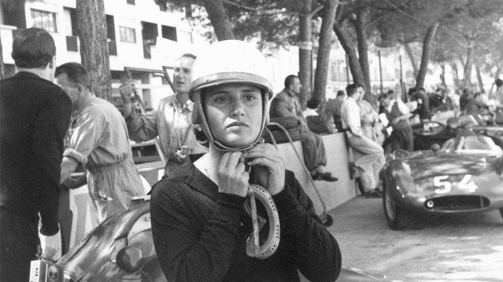 Foto: Maria Theresa de Filippis, en el Gran Premio de Mónaco de 1958 (FOTO: FIA).