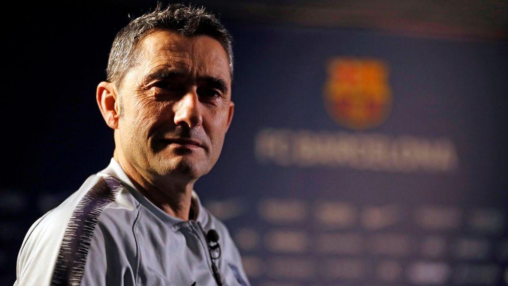 Foto: Ernesto Valverde conoce el Barcelona y no asegura su continuidad la próxima temporada. (Foto: FC Barcelona)