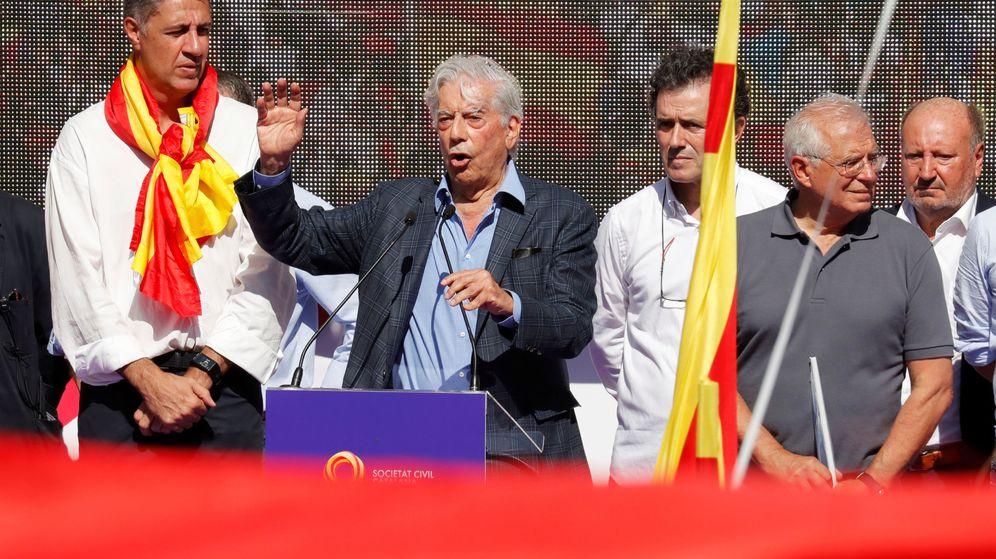 Foto: El Premio Nobel de Literatura Mario Vargas Llosa.
