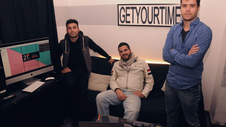 Foto: Los tres fundadores de Get Your Time