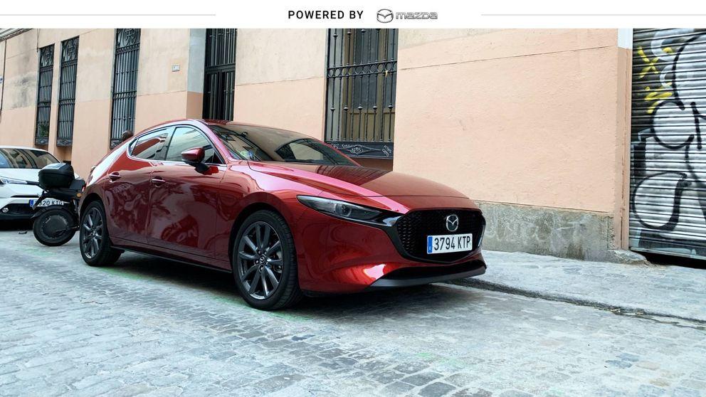 Probamos el primer híbrido de Mazda por Madrid Central: potencia 'eco'