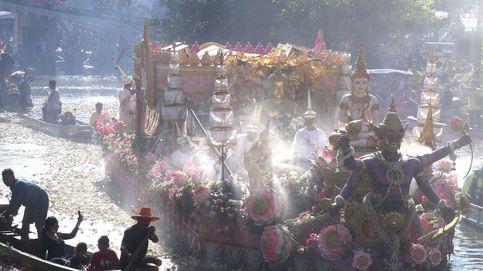 El Festival anual de la Flor de Loto y las protestas en Costa Rica: el día en fotos
