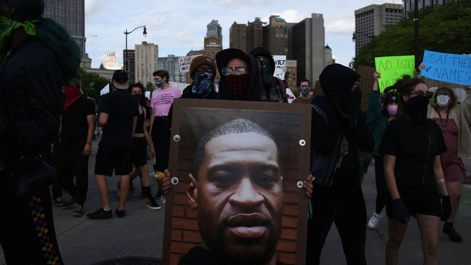 Muere un joven tiroteado durante los disturbios en Detroit (EEUU)