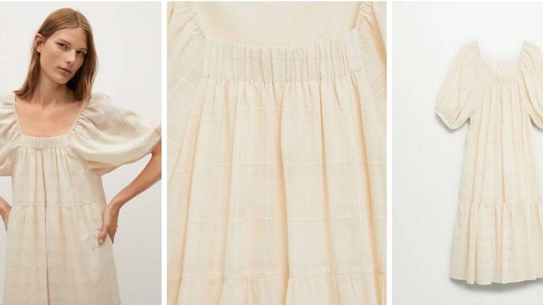 Vestido de Mango de Sofía Palazuelo. (Cortesía)