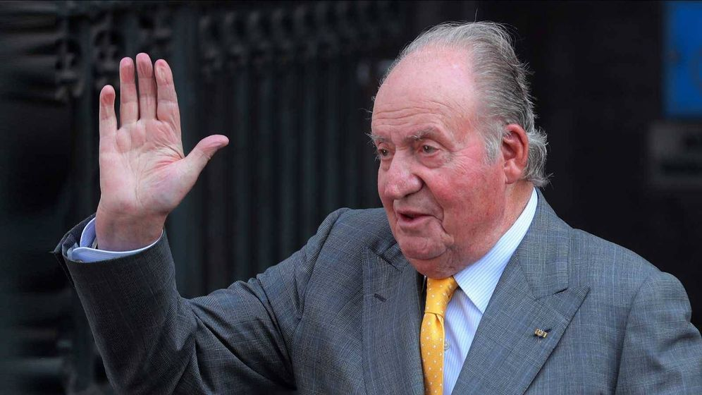 Foto: El rey emérito Juan Carlos I. (TVE)