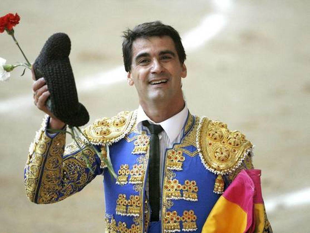 Foto:  Jesulín de Ubrique, durante una corrida. (EFE)
