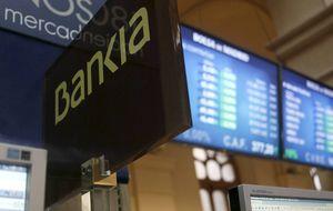 Bankia cotiza por encima de su valor en libros tras subir un 23% en 5 días