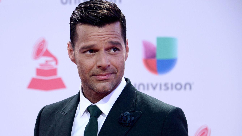 Foto: Ricky Martin en los premios Grammy (Gtres)