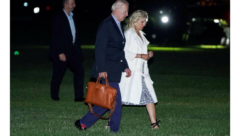 Joe y Jill Biden. (Reuters)