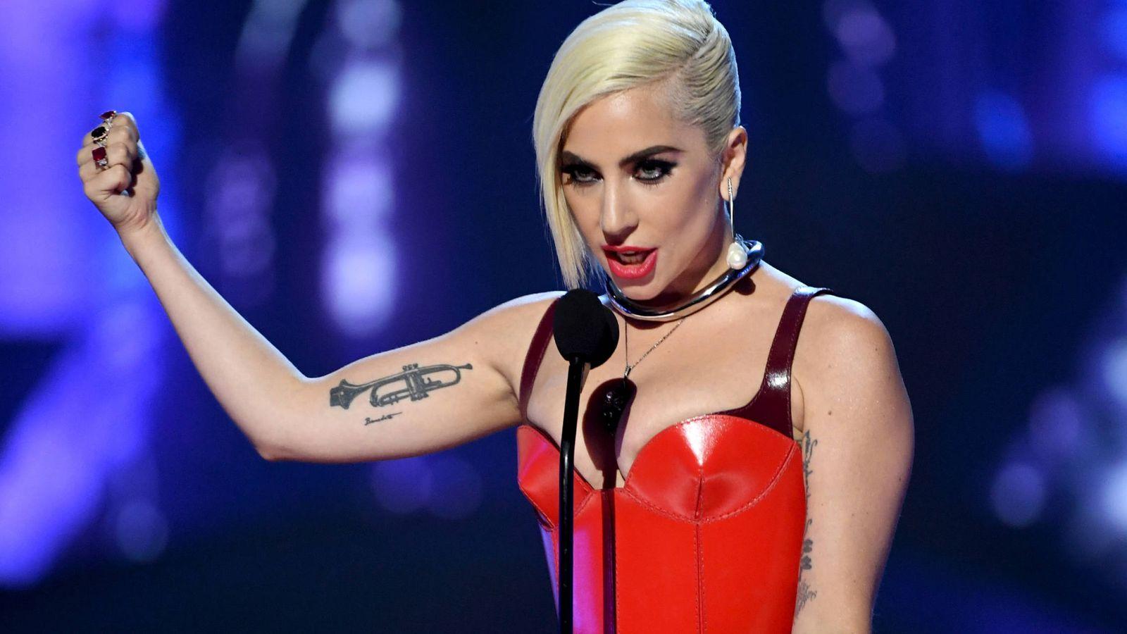 Foto: La cantante Lady Gaga durante una actuación en Santa Mónica (Kevin Winter/Getty Images)