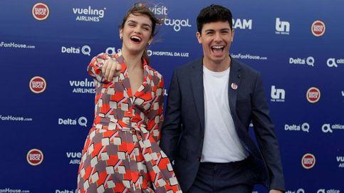 Eurovisión 2018: Amaia y Alfred, felices e ilusionados en la alfombra azul de Lisboa
