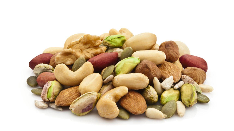 Los frutos secos ayudan a mejorar el ánimo.