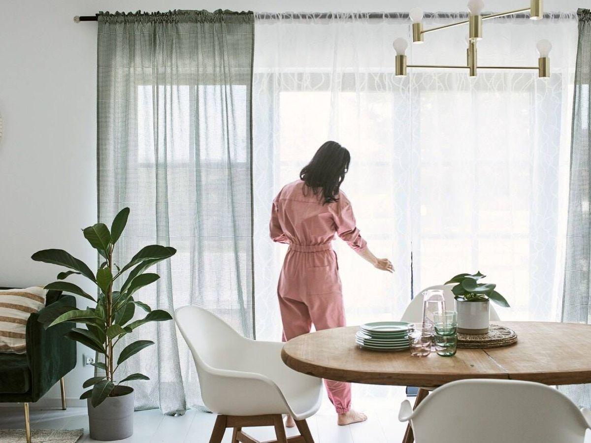 Foto: Ikea tiene las cortinas que buscas para tus estancias. (Cortesía)