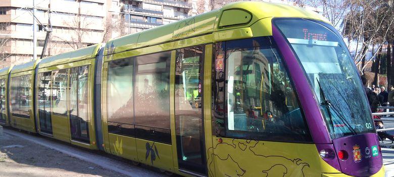 Foto: Imagen del tranvía de Jaén